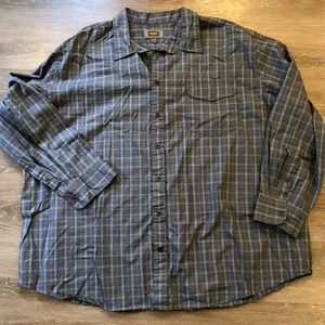 Foundry Supply Co. Long Sleeve Button Down